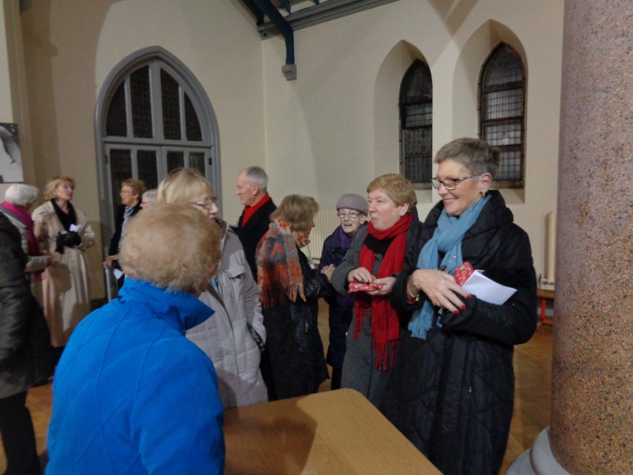 Attendance at the Parish Advent Carol Service