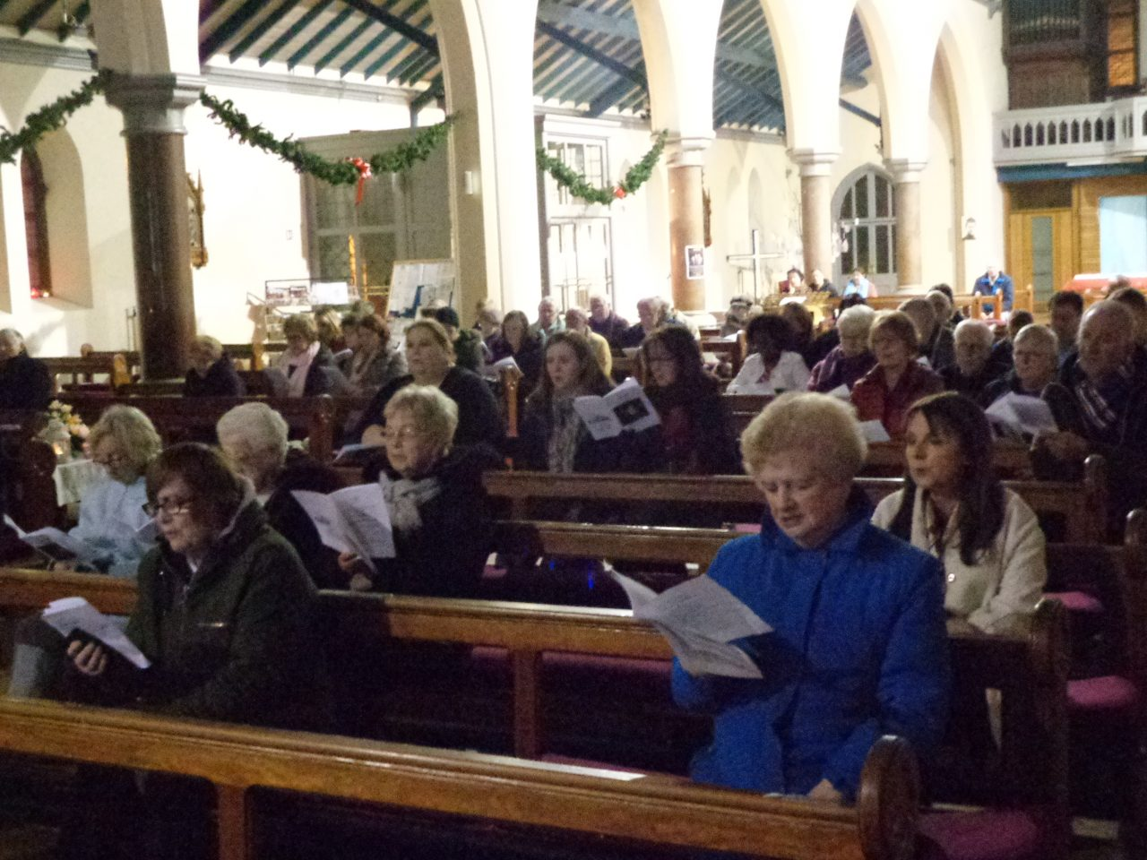 Audience at the Parish Advent Carol Service