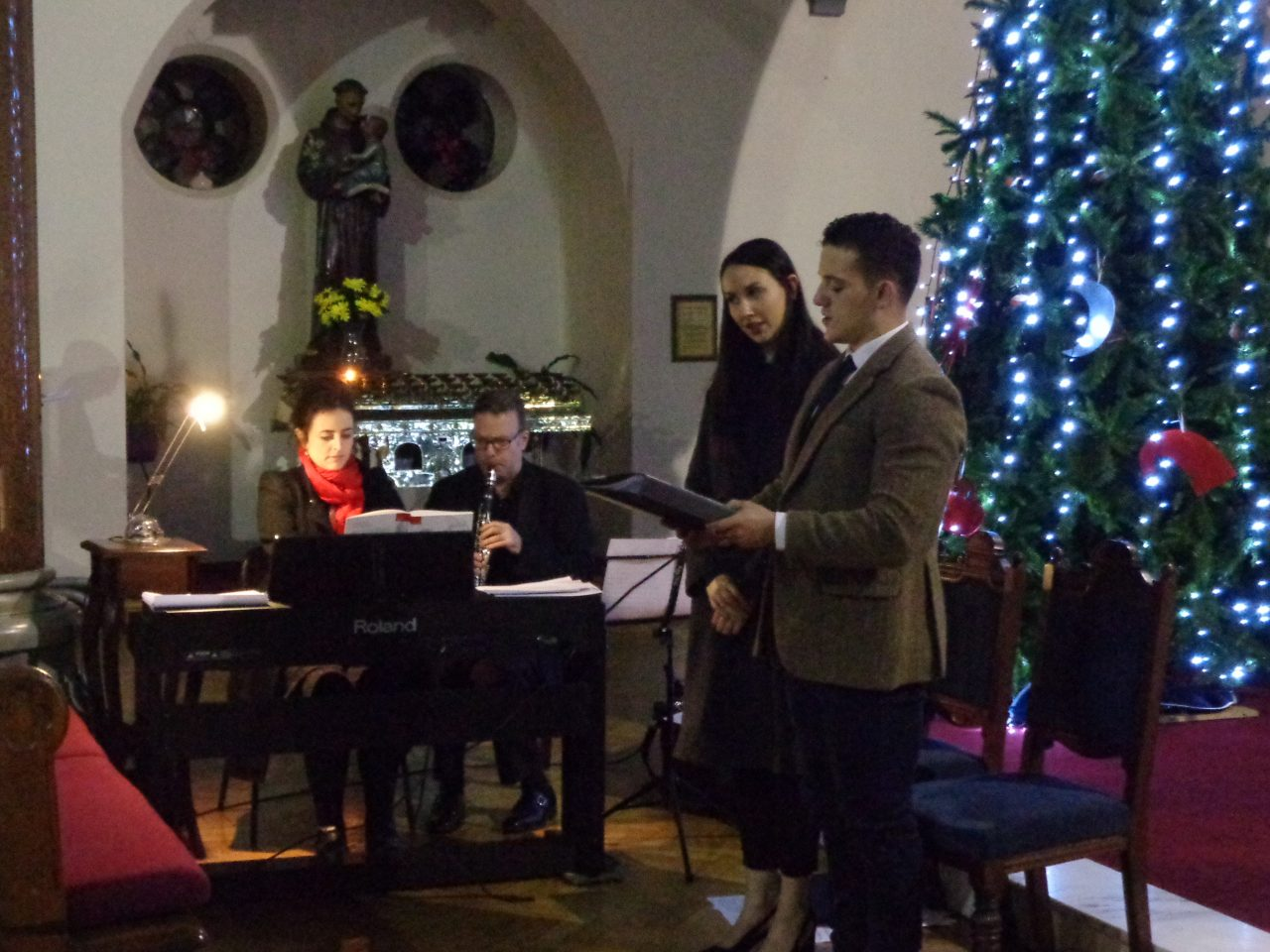 Musicians and Soloists at the Parish Advent Carol Service