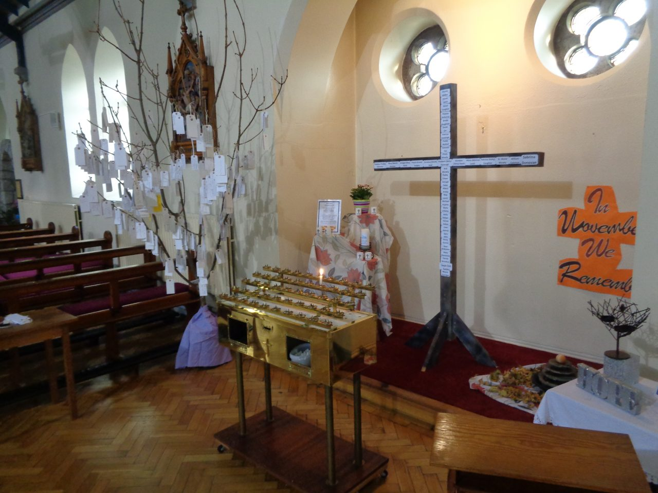 November Sacred Space in our Parish Church