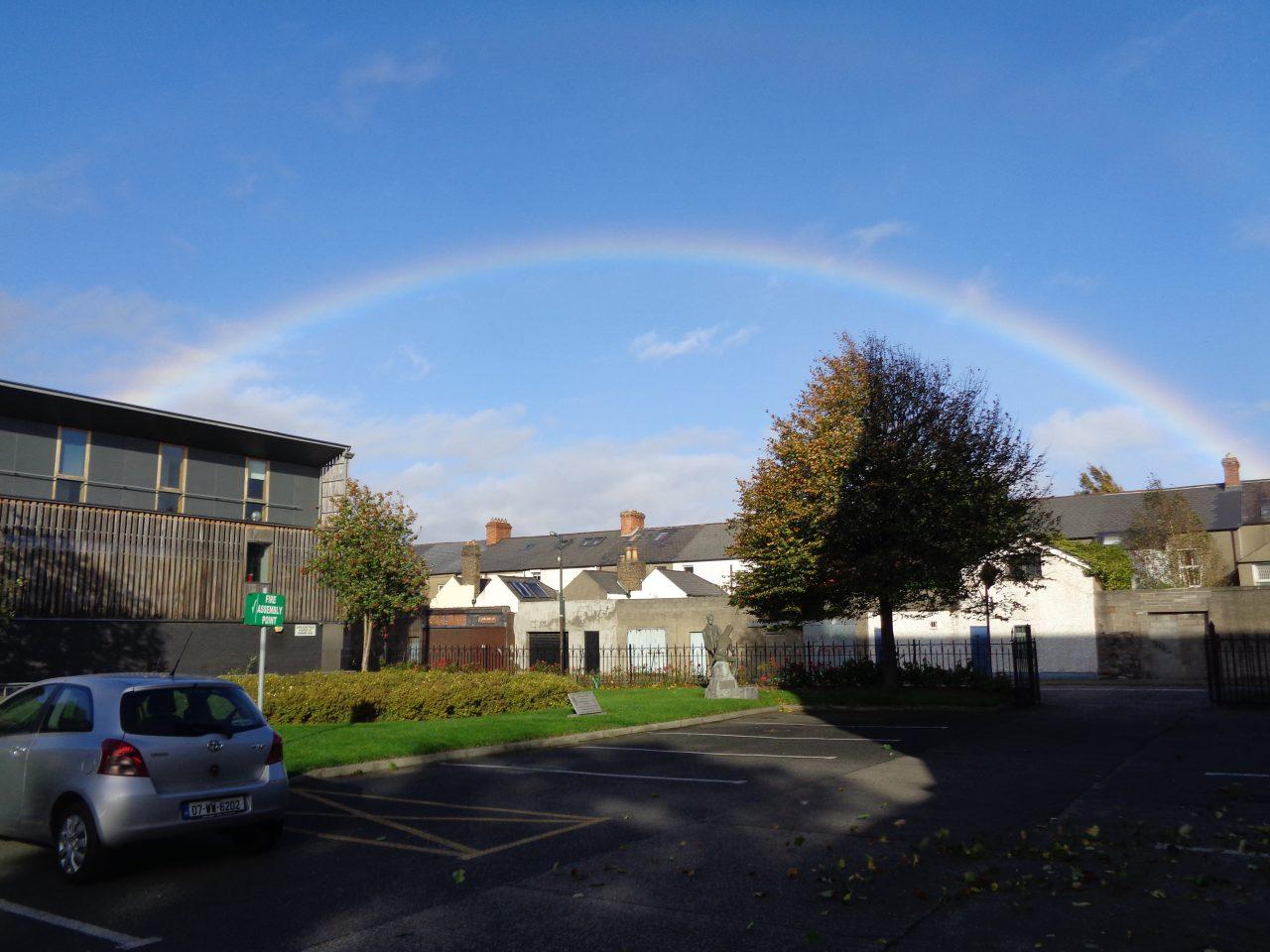Rainbow at St. Teresa's Church