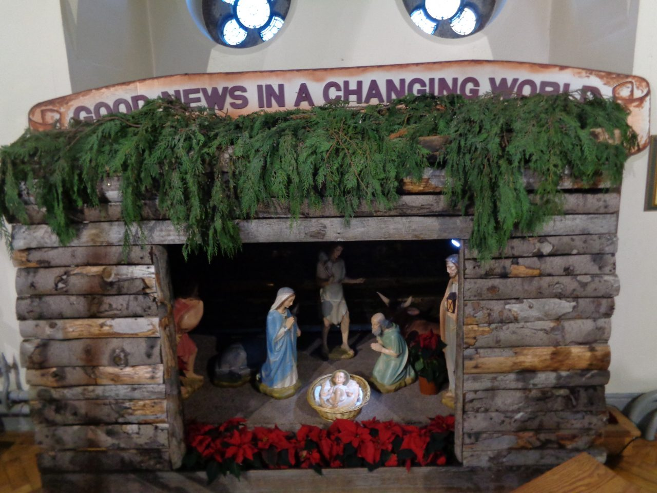 Crib in St. Teresa's Church, Donore Avenue – Christmas 2017