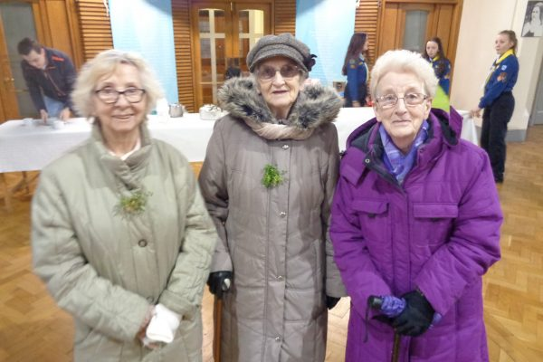 DSC02195Parishioners at St. Patrick's Day Mass