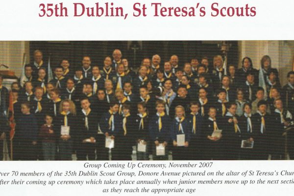 Donore Scouts 2007