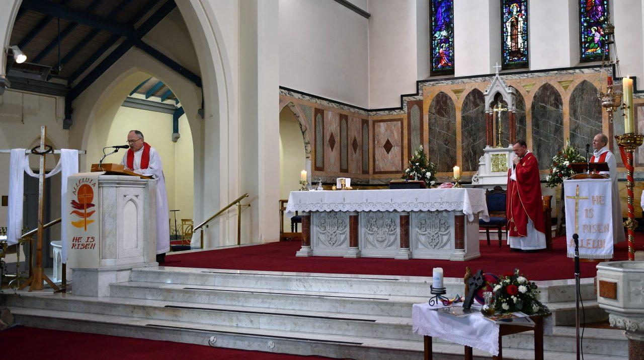 Fr. Alois Reads the Gospel