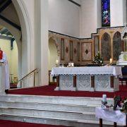 Fr. Alois reads the GospelDSC_6930
