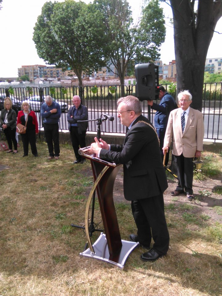 Speech by Mícheál Mac Donncha, Lord Mayor of Dublin at the Blessing of St. Teresa's Statue in St. Teresa's Gardens