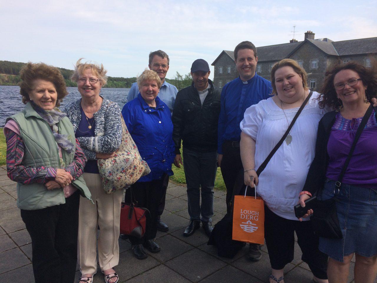 Parishioners on the Pilgrimage to Lough Derg