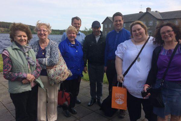Parishioners in Lough DergIMG_0137