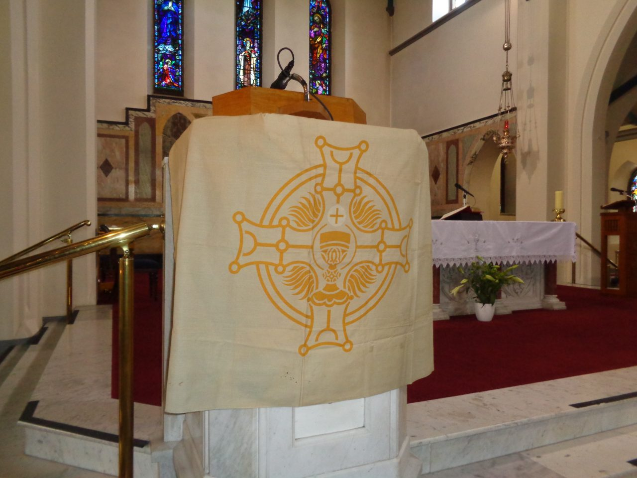 Ambo Banner used during the Eucharistic Congress in 1932