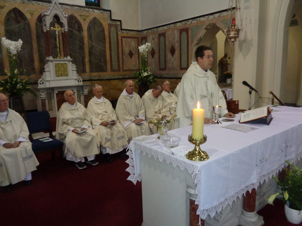 Fr. Tom Celebrates his First Mass