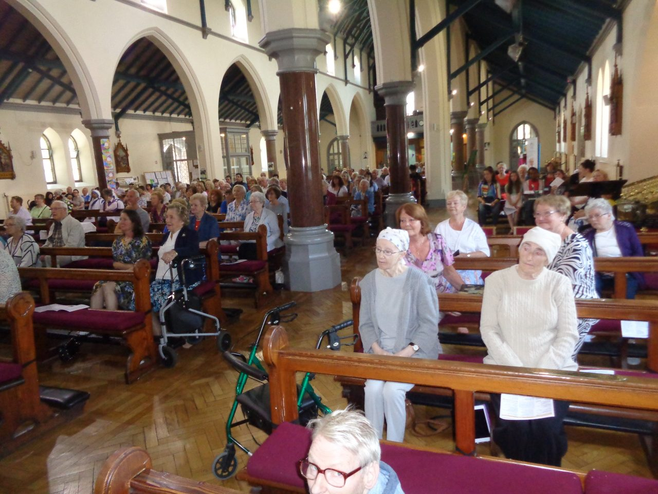The Congregation Attending Fr. Tom's First Mass