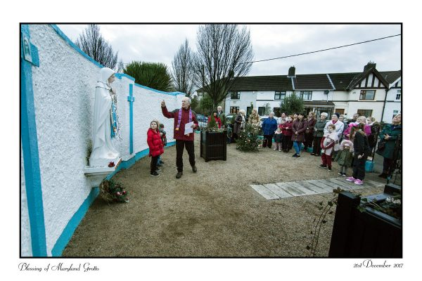 Blessing of Maryland Grotto, Dublin 8 by Father David Corrigan.