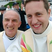 Fathers John and Tom Concelebrating Mass with the Pope in the Phoenix Park on Sunday 26th August 2018
