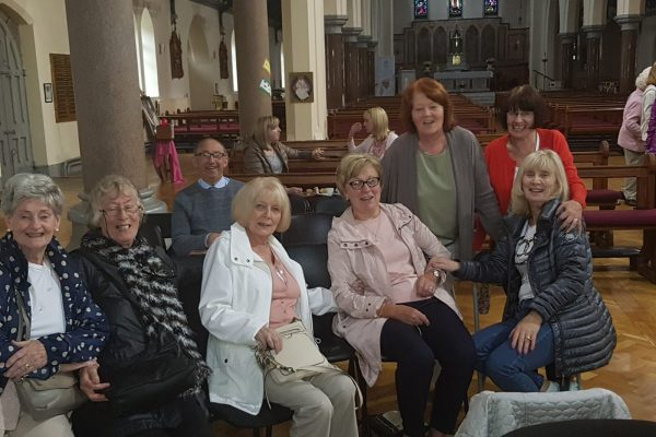Some of the Donore Avenue Parishioners