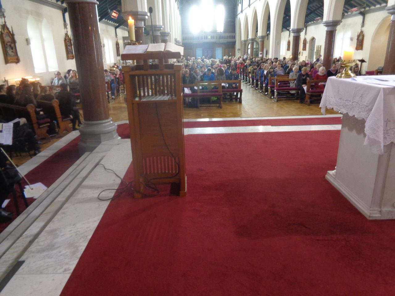 Congregation Attending the Mass for the Deceased
