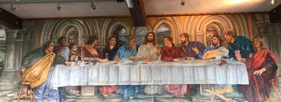 Last Supper in Presentation Convent Dingle
