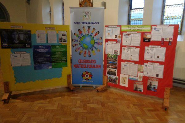 Spiritual Groups in our parish display Dec19 to Jan20