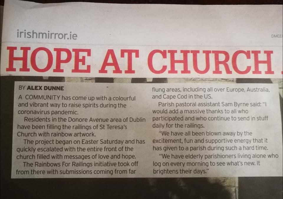 Irish Mirror Newspaper